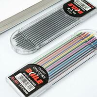 ly 2.0mm 2B Colored Pencil Lead 2mm Mechanical Clutch Z3J6 Holder Refill P4J0