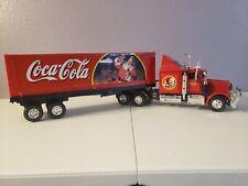 Vintage coca cola Christmas Semi Truck