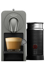 NEW Nespresso by Breville BEC500XT Prodigio & Milk Capsule Coffee Maker: Titan