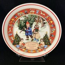 Wedgwood A Child's Christmas 1980 Collectors Plate (Second in Series)