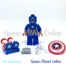 LEGO MARVEL SH MINIFIGURE 76049 - SPACE CAPTAIN AMERICA - MF ONLY - NEW