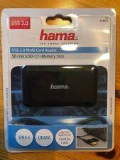 USB 3.0 Multi Card Reader - Hama - Neu