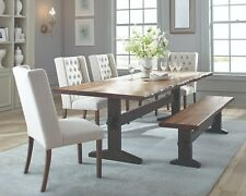 Coaster Furniture Burnham 6 Piece Dining Table Set by Scott Living