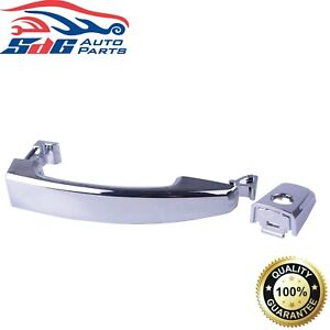 RH Right Hand FRONT Outer Door Handle Chrome For Holden Captiva 2006~2018