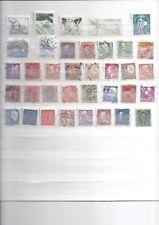 Lot de 36 timbres oblitérés SUEDE 01