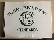 Central of Georgia Signal Department Standard Drawings
