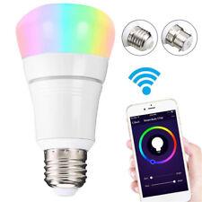 Wifi Led light bulb 8W E27 Wireless WiFi Remote Control Smart Bulb Lamp Light