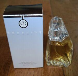 New Avon Perceive Eau De Parfum Spray, 1.7 Fl. Oz., NOS