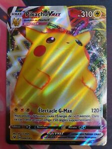 Carte Pokémon Pikachu Vmax 044/185 EB4 Voltage Eclatant NEUVE FR