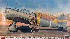 Hasegawa 09918 Nakajima Ki-27 Type 97 Fighter ( Nate ) 64th Flight Regiment 1/48