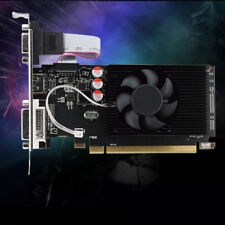 BlACK GPU HD 6450 2GB DDR3 HDMI Graphic Game Video Cards PCI Express For Gaming