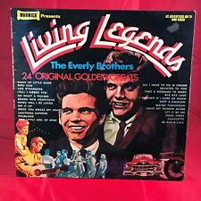 EVERLY BROHERS Living Legends 1979 UK Vinyl LP EXCELLENT CONDITION best of b