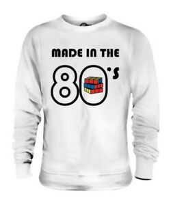MADE IN THE 80S UNISEX SWEATER TOP GIFT RETRO TOY