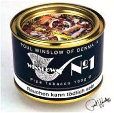Pfeifentabak Winslow No 1 Vanille Kokos Pflaumen Rum 100 gr Virgina Cavendish