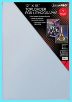 1 ULTRA PRO 12x18 TOPLOADER Photo Memorabilia Art Poster Lithograph Document