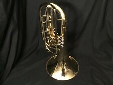 Jupiter Marching French Horns JM 550 Brass and Silver, Beautiful Condition
