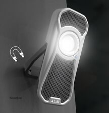 600Lumen AUD601R Pila Luz de Trabajo Altavoz Lámpara de Mano Scangrip Als Audio