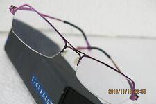 326a7093e75 Lindberg Eye Glass Frame New Semi Rimless Polished Fuchsia Pink Excelent  Conditi