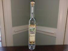 Polish Black Currant Vodka Krakow Poland Tall Skinny Empty Glass Liquor Bottle