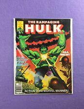 Rampaging Hulk Magazine #1 (1977): 1st Issue! 1st Appearance of Killer Shrike I!