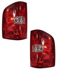 07 08 09 10 11 12 13 Silverado Sierra Left & Right Taillight Taillamp Lamp Pair