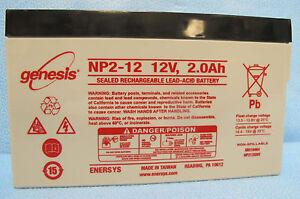 Medical Battery - Baxter 6201 - NP2-12 Genesis Yuasa WKA12-2ST UB1220T ES2-12SLM