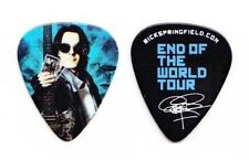 Rick Springfield Signature Photo Guitar Pick #2 - 2013 End Of The World Tour