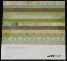 "Kaisercraft 'HEIRLOOM' 6.5"" Paper Pad Family/Heritage KAISER *DELETED 7 LEFT*"