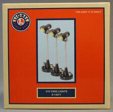 LIONEL #70 LIGHTED YARD LIGHTS (3) scenery lamp post lighting o gauge 6-14071