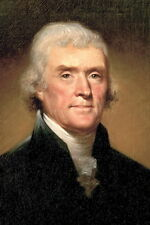 New 5x7 Photo: Thomas Jefferson, 3rd President of the United States