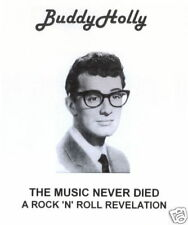 Buddy Holly The Music Never Died  CD  A Rock & Roll Revelation - Rare Recordings