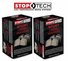 For Mercedes CL55 AMG W215 W220 Front & Rear Sport Brake Pads Set Kit StopTech