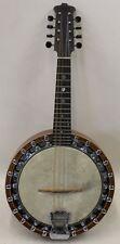 THE WINDSOR PYXE Model 1 Banjo Mandolin c. 1920 Vintage 8-String Instrument