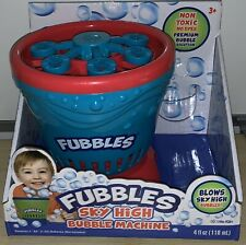 FUBBLES Sky High Bubble Machine | * BUBBLE MACHINE ONLY*