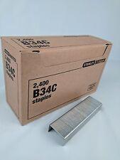 Stanley Bostitch B34C Staples 2400/Box NIB