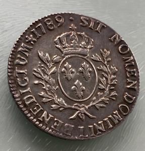 1789 L - Louis XVI France- ecu 1789 L (Bayonne) ecu