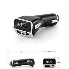 LCD Display Car MP3 Player FM Transmitter Cigarette Lighter USB Car charger AUX