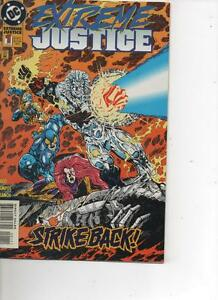 JUSTICE LEAGUE EXTREME JUSTICE 1 FEB 1995 MINT