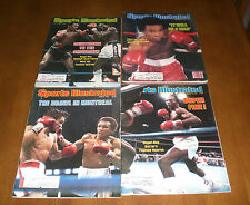 4 Different Boxing 1980's Sports Illustrated Sugar Ray Leonard Covers