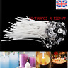 New 50/100 X 15cm Pre Waxed Candle Wicks for Candle Making With Sustainers UK