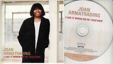 JOAN ARMATRADING I Like It When We're Together 2018 UK 3-trk promo test CD