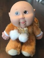 New Cabbage Patch Kids Snugglies Doll Kyle Irvin No Hair Brown Eyes Monkey