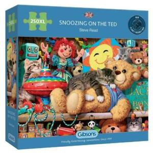 Gibsons Snoozing On The Ted 250 Xl Pieces Jigsaw Puzzle