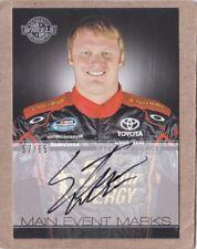 2011 Press Pass Wheels Racing Steve Wallace Main Event Marks Autograph (#57/65)
