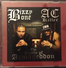 LIMITED 1-100 SIGNED & HAND NUMBERED, SILVER FOIL COVER, Bizzy Bone & AC Killer