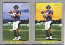 STEVE MCNAIR 2006 TOPPS TURKEY RED #110A, 110B, SKY VARIATIONS FREE COMBINED S/H