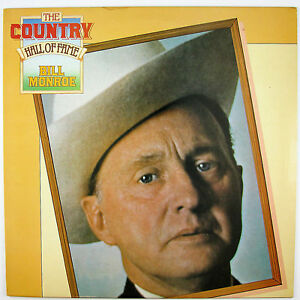 BILL MONROE The Country Hall Of Fame LP1980 BLUEGRASS NM- NM-
