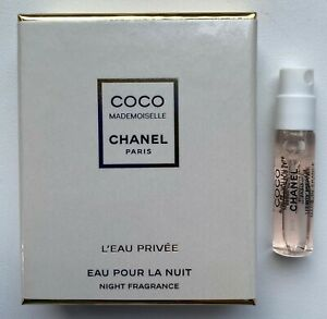 Chanel COCO MADEMOISELLE L'EAU PRIVE NIGHT FRAGRANCE MINIATURE 1,5 ml VIP GIFT