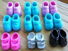 Barbie Doll Shoes Kelly Club Lil Friends Tommy Lot of 9 Pair Tiny Shoes Sandal