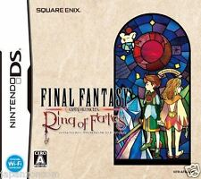 Used DS Final Fantasy Crystal Chronicles Ring of Fates NINTENDO JAPANESE IMPORT